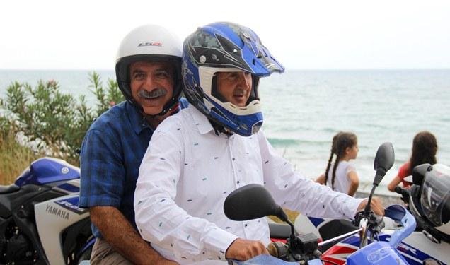 Belediye Başkanı Motorsiklette kask takılması önemine dikkat çekti