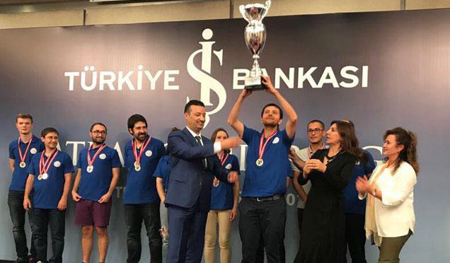 Satranç Takımımız Türkiye Şampiyonu oldu
