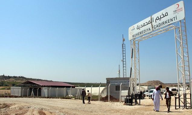 Yeryüzü doktorları Cinderes'de sağlık merkezi inşa ediyor