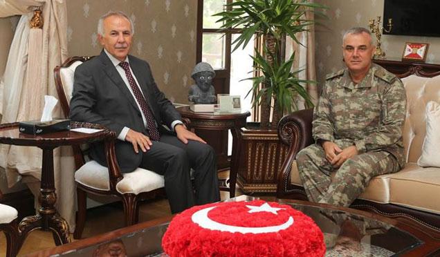 Bolu 2. Komando Tugay Komutanı Tuğgeneral Oğuz Tozak Hatay'da