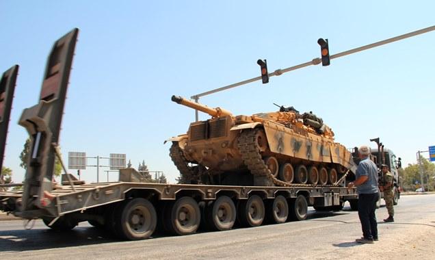 Suriye sınırına asker sevkıyatı