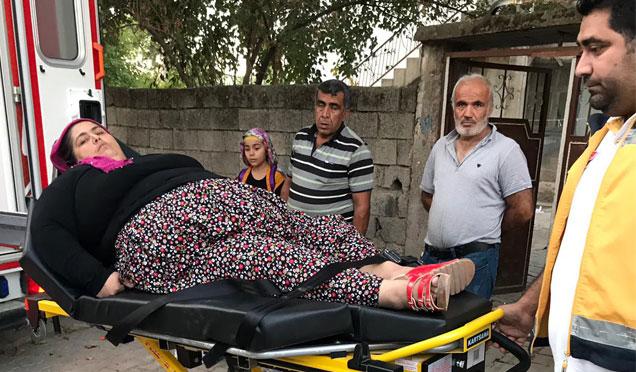 180 Kilo'luk Fidan Altın'aİl Sağlık Müdürlüğü el uzattı