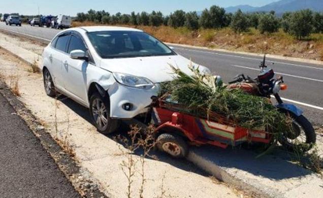 Hatay'da trafik kazası; 1 ölü, 1 yaralı