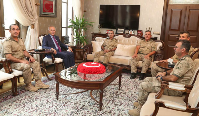 Tuğgeneral Turgay Aras Hatay'da