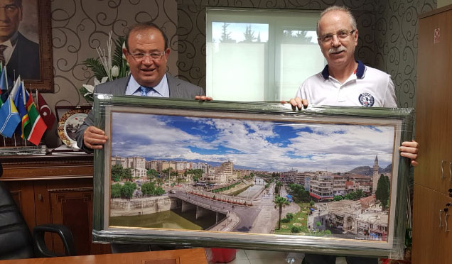 Hafsad'dan Kaymakam Mardinli'ye Ziyaret
