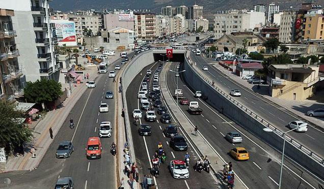 İskenderun trafik akışında yön değişikliği