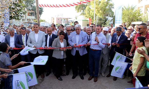 Temel atıldı; Hatay'da 163 km Kanalizasyon şebekesi yapılacak