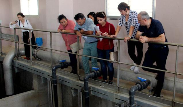 Trabzonlu heyetten Hatay'daki tesiste inceleme
