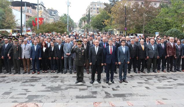 Kırıkhan'da 10 Kasım anma etkinliği