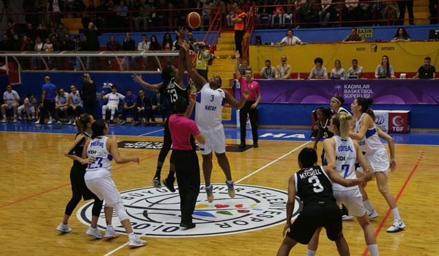 Hatay Büyükşehir Belediyespor 88-72 Beşiktaş