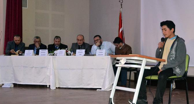 Kırıkhan'da Kuran-ı Kerim'i ve Ezanı güzel okuma yarışması düzenlendi