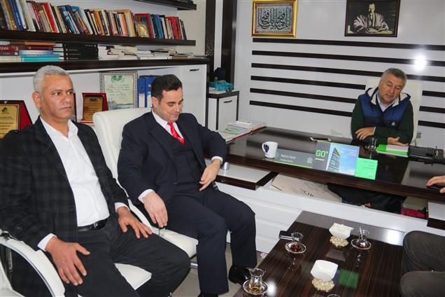 MHP Kumlu Belediye Başkan Adayı Mehmet Deli'den ziyaret