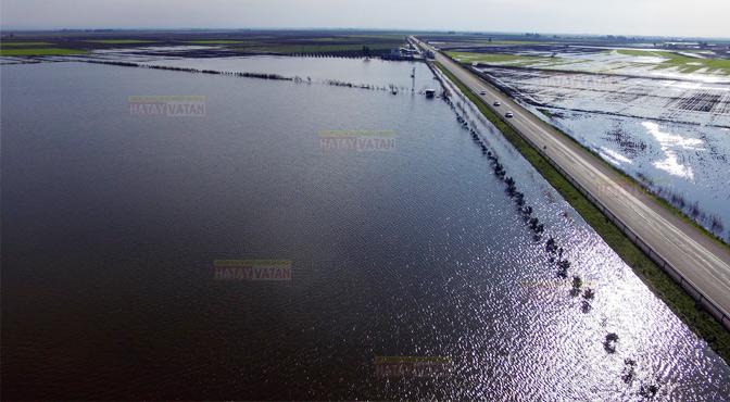 Sular altında kalan tarım alanları kayıt altına alınıyor