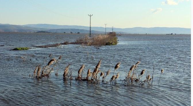 Amik Ovası sular altında