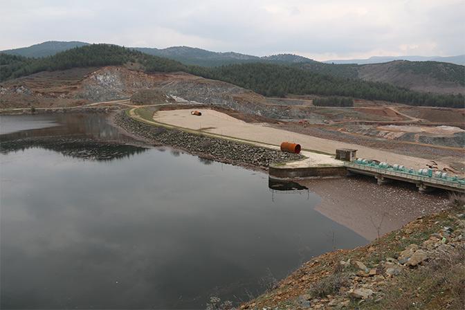 Amik Ovası için büyük önemi bulunan Tahtaköprü Barajı yükseliyor