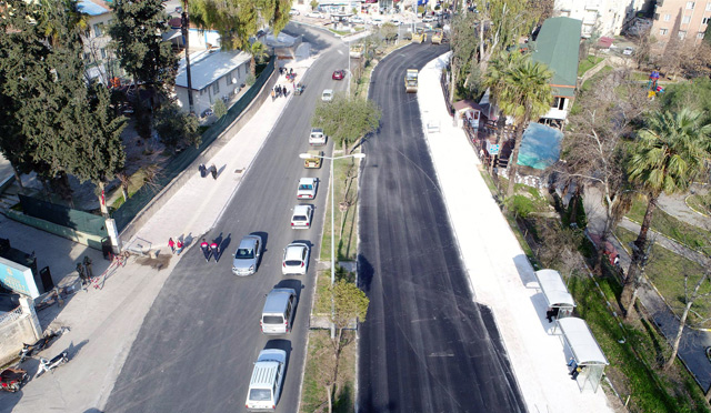 HBB Kırıkhan'da asfalt çalışmasına devam edecek