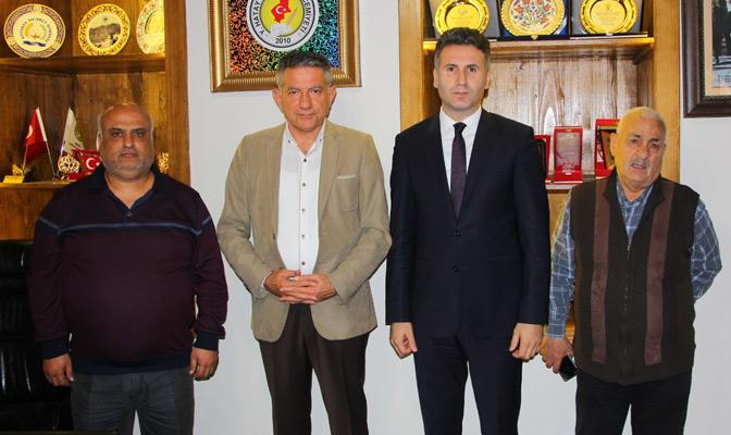 Hatay Cumhuriyet Başsavcısı Ahmet Ataman'dan HGC'ye Ziyaret