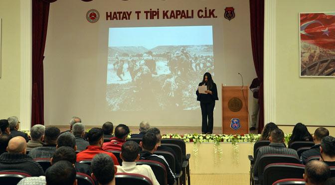 Cezaevinde Çanakkale Zaferi unutulmadı