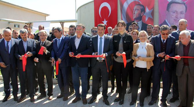 Kırıkhan'da dev tesisin açılışı gerçekleşti