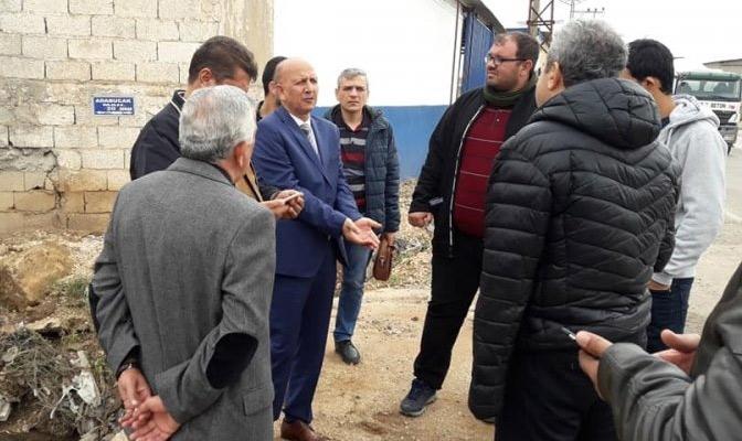 Reyhanlı Belediye Başkanı Çüter'e sözlü saldırı