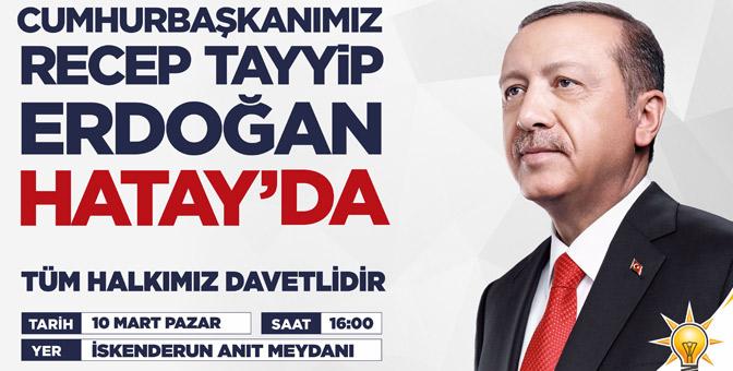 Cumhurbaşkanı Erdoğan 10 gün aradan sonra 2. kez Hatay'a geliyor