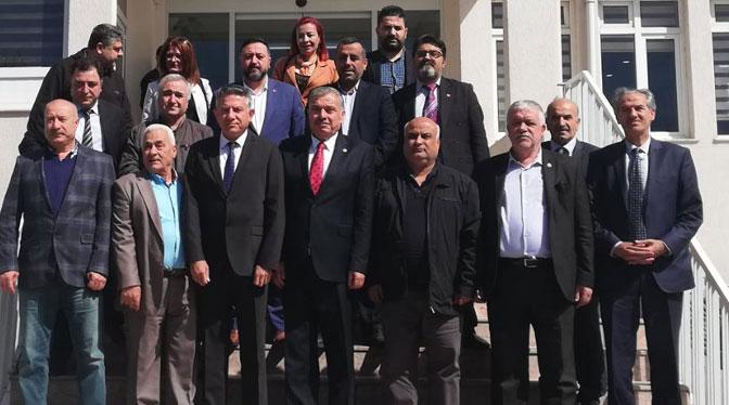 HGC'den yeni seçilen başkanlara ziyaret