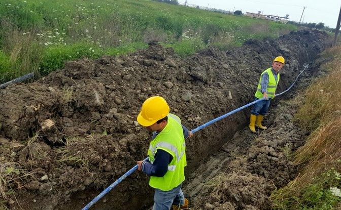 İçme Suyu Hattı Olmayan Bölgelerde Çalışmalar Sürüyor