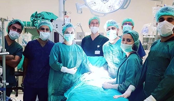 Hatay Devlet Hastanesi'nde Bir İlk Daha Gerçekleştirildi