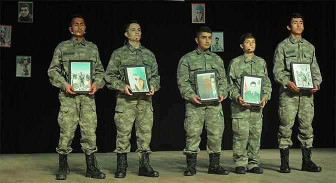 Afrin Şehitleri için program düzenlendi