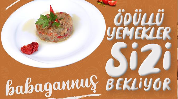 Ödüllü Yemekler Hatay Gastronomi Evi'nde