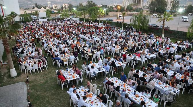 Gazi ve Şehit aileleri için İftar programı düzenlendi