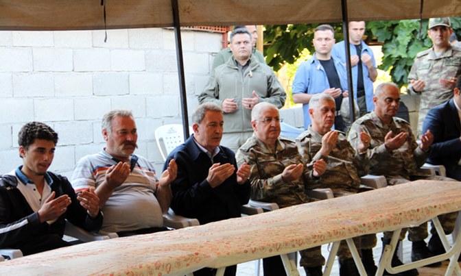 Milli Savunma Bakanı Hulusi Akar Kırıkhan'da
