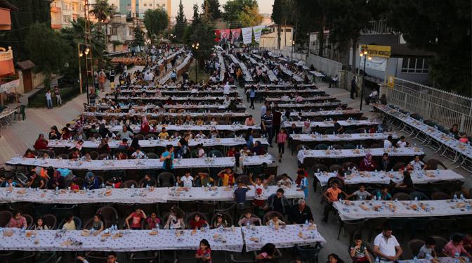 Reyhanlı'da Ramazan bereketi