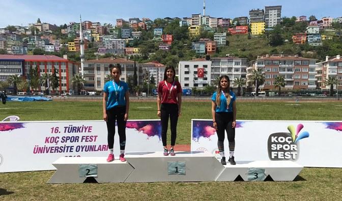 İnci Çiçek, Türkiye Şampiyonu olarak Hatay'a gurur yaşattı