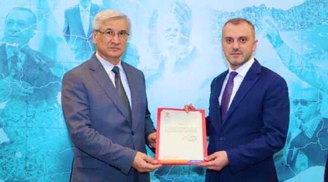 Ak Parti Hatay İl Başkanı Mehmet Yeloğlu oldu