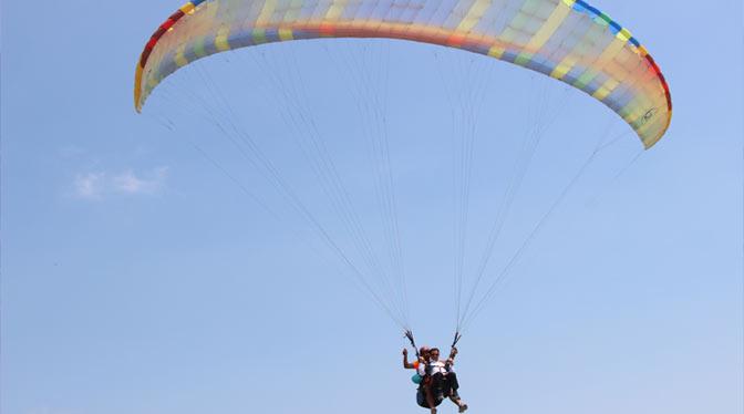 Türkiye Yamaç Paraşütü Hedef Şampiyonası Samandağ'da yapıldı