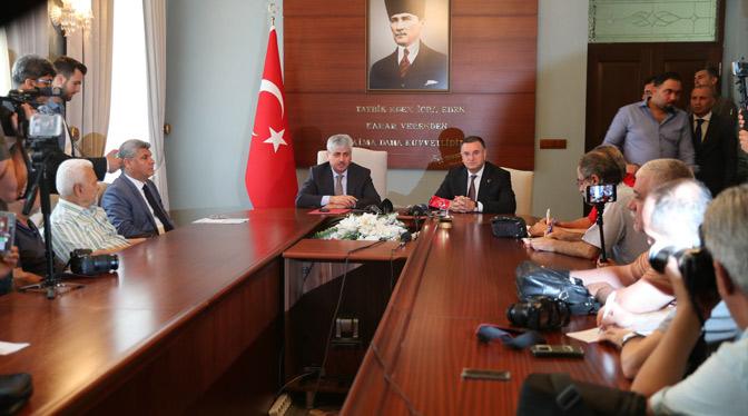 Valilik ve HBB Hatayspor için destek kampanyası başlattı