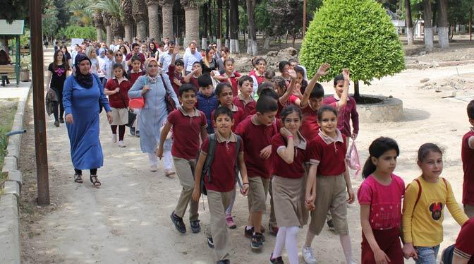 Dünya Hareket Gününde yürüdüler