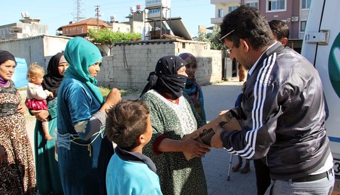 Suriyeli Muhacirlere 70 Bin adet soğuk kahve dağıtıldı