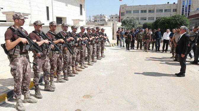 Vali Doğan Raco, Bülbül, Cinderes ve Afrin'de incelemelerde bulundu