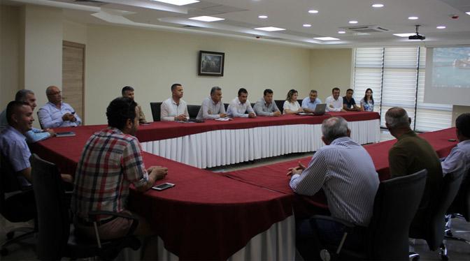 Arsuz'da Deniz Kaplumbağaları ve Av Turizmi için toplantı