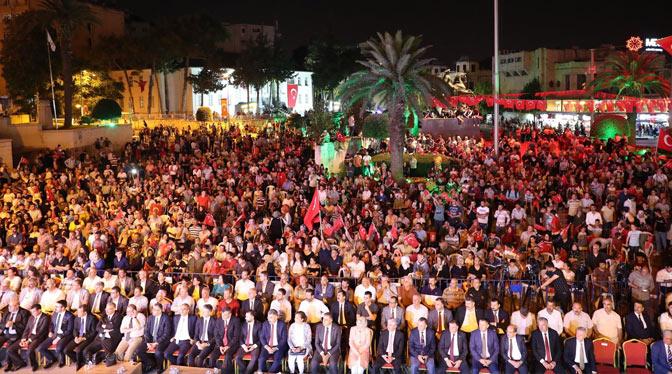 Hatay'da 15 Temmuz Demokrasi ve Milli Birlik Günü