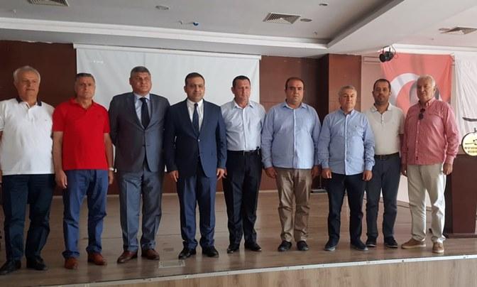 Hatayspor'un yeni Başkanı Nihat Tazearslan