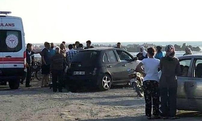 Arsuz'da denize giren karı koca boğuldu