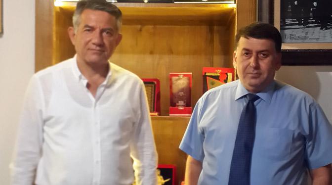Halit Ergin'den, HGC Başkanı Yetişen'e Ziyaret..