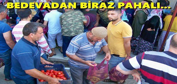 Örnek çiftçi vatandaşların gönüllerini fethediyor