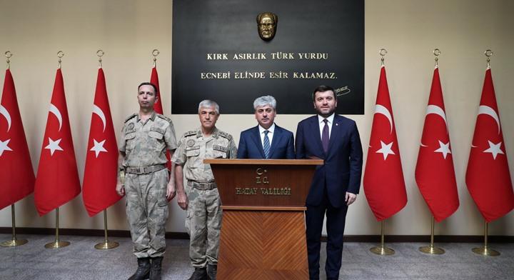 Jandarma Genel Komutanı Orgeneral Arif Çetin Hatay'da