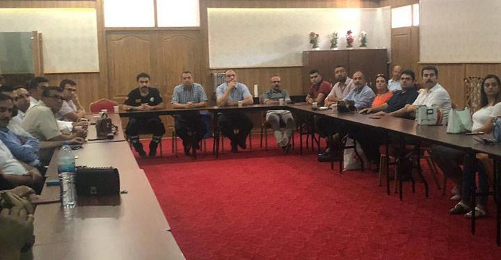 Acil Sağlık hizmetleri toplantısı yapıldı