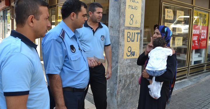 Kırıkhan'da dilenci operasyonu
