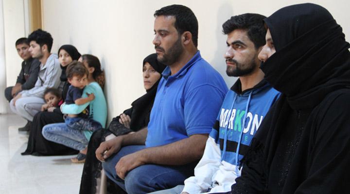 Sınırdan yasadışı yollarla geçen 119 şahıs yakalandı